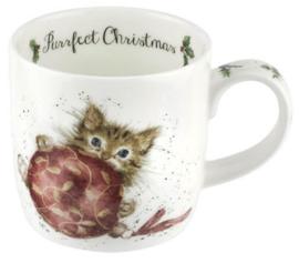Wrendale Designs Purrfect Christmas Mug