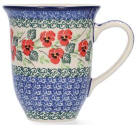 Bunzlau Tulip Mug 500 ml Romance