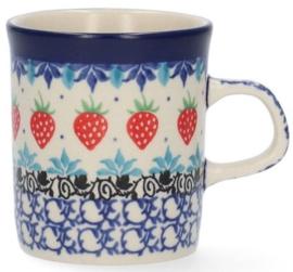 Bunzlau Straight Mug 150 ml Strawberry -Limited Edition-