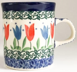 Bunzlau Straight Mug 150 ml Tulip Royal -Limited Edition-