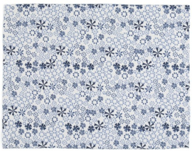 Bunzlau Placemat Indigo Lace -set of 2-