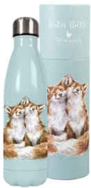Wrendale Designs 'Contentment' Fox Water Bottle 500 ml