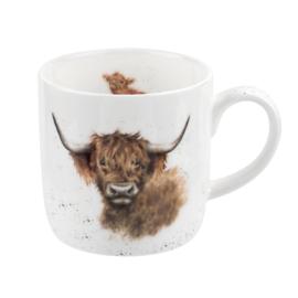 Wrendale Designs Highland Cow Mug