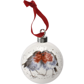 Wrendale Designs 'Snuggled Up Together' Christmas Bauble