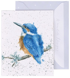 Wrendale Designs 'King of the River' miniature Card
