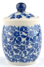 Bunzlau Miniature Jar Indigo