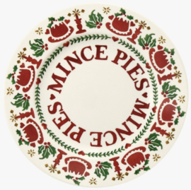 Emma Bridgewater Christmas Joy Mince Pies 8 1/2 Inch Plate - 2021