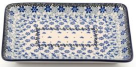 Bunzlau Tray 18 x 24 cm Belle Fleur