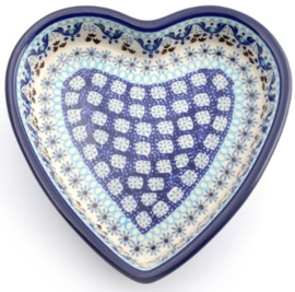 Bunzlau Baking Dish Heart 720 ml Marrakesh