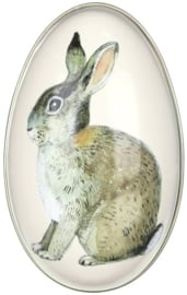 Emma Bridgewater Medium 'Bunny' Egg-Shaped Tin