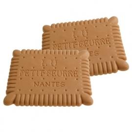 Onderzetter LU Rubber 11,5 x 10 cm - met geur van biscuit
