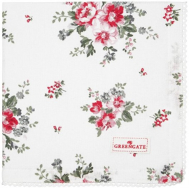 GreenGate Napkin with lace Elouise white
