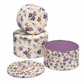 Emma Bridgewater Wallflower 3 Cake Tins
