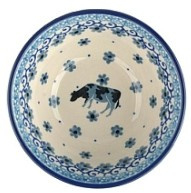 Bunzlau Bowl 150 ml 10 cm Cow -Limited Edition-