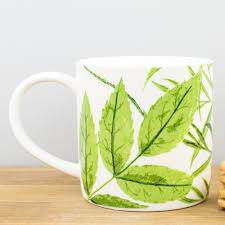 Ulster Weavers Straight Sided Mug Foliage  -Model A-