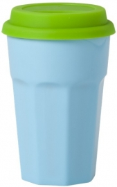 Rice Silicone Lid for Our Melamine Tall Cups in Green, Blue or Pink
