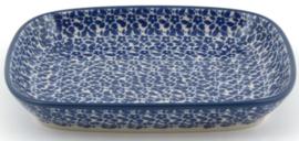 Bunzlau Tray Small 15 x 18,5 cm Indigo