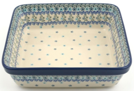Bunzlau Oven Dish Square 3200 ml Garland 27 x 8 x 27 cm