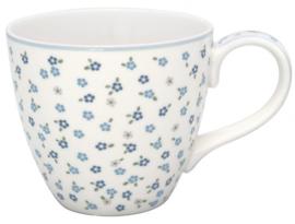 GreenGate Mug Ellise white -stoneware-