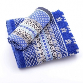 Bunzlau Kitchen Towel Marrakesh Royal Blue