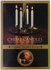 Christmas Chimes Kaarsen -set van 20- wit