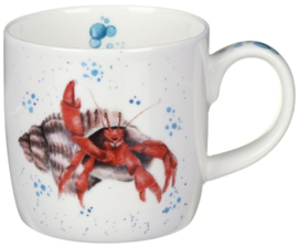 Wrendale Designs 'Happy Crab' Mug