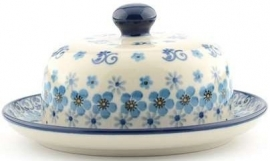 Butter Dish with Plate Round 1293