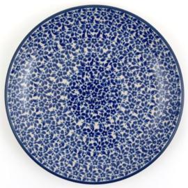 Bunzlau Plate 20 cm Indigo