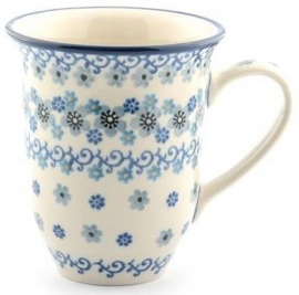 Bunzlau Tulip Mug  500 ml Winter Garden