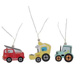 Sass & Belle Gift Tags Illustrated Trucks -Set of 12-