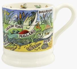 Emma Bridgewater River & Shore Fresh Water 1/2 Pint Mug