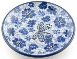 Bunzlau Teabag Dish 10 cm Dragonfly