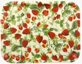 Emma Bridgewater Strawberries Rectangular Birch Wood Tray