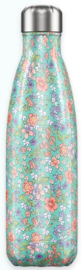 Chilly's Drink Bottle 500 ml Floral Peony -glad en glanzend-