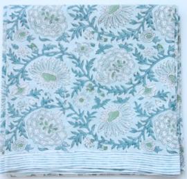 Rozablue Tafelloper Sunny Day blue 60 x 180 cm