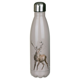 Wrendale Designs 'Portrait of a Stag' Stag Water Bottle 500 ml
