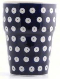 Bunzlau Milk Mug 240 ml Blue Eyes