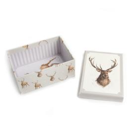 Wrendale Designs Medium Stag Gift Box