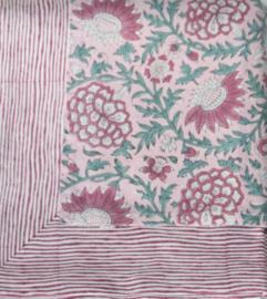 Rozablue Tafellaken Sunny Day roza 180 x 270 cm
