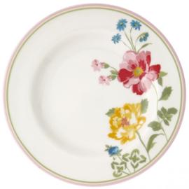 GreenGate Small Plate Thilde white -stoneware-