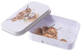 Wrendale Designs 'Daisy Coo' mini gift tin