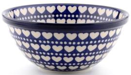 Bunzlau Bowl 17 cm Blue Valentine