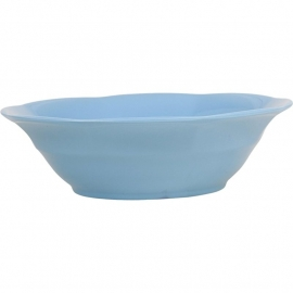Rice Melamine Soup Bowl in Turqouise