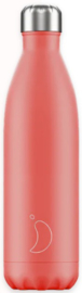 Chilly's Drink Bottle 750 ml Pastel Coral