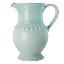 Rice Ceramic Jug in Ice Blue - 7,9 L. - Extra Large