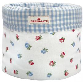 GreenGate Bread Basket Viola white