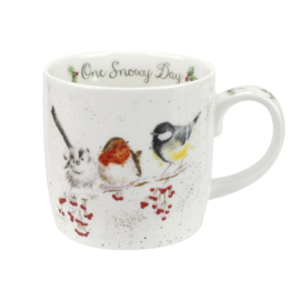 Wrendale Designs One Snowy Day Christmas Mug