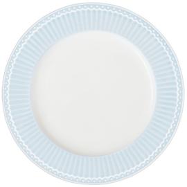 GreenGate Dinner Plate Alice pale blue -26,5 cm-