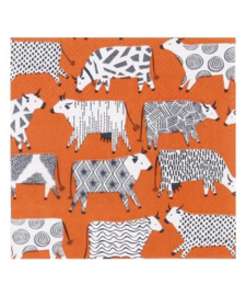 Ulster Weavers Paper Napkins Curious Cows - set of 20