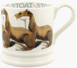 Emma Bridgewater Stoat 1/2 Pint Mug